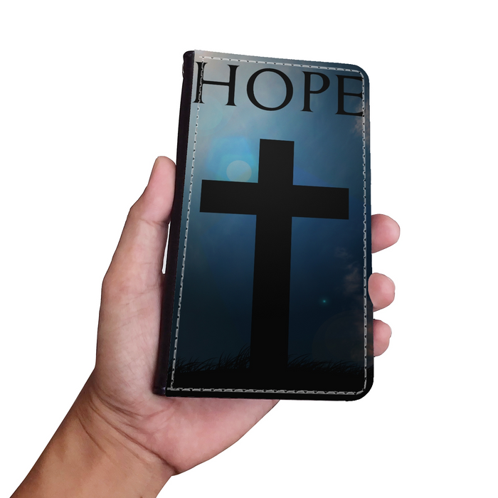 Hope Wallet Phone case - Christian Phone Case - Samsung Phone Case - Iphone Phone Case - Gift for Christians