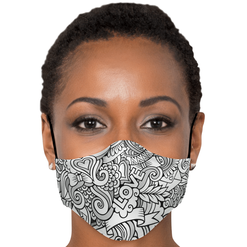 Fashion Face Mask (Love D3)