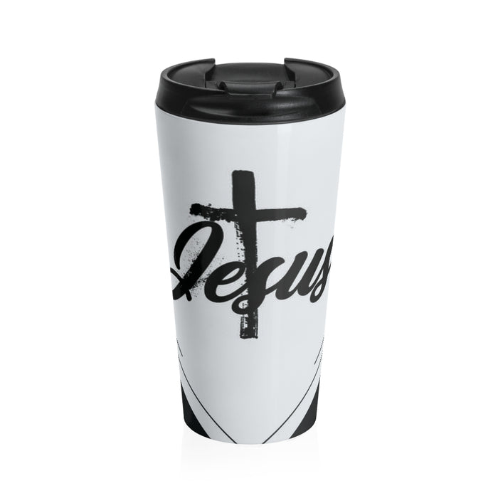 Christian Travel Mug 15 oz (Jesus)
