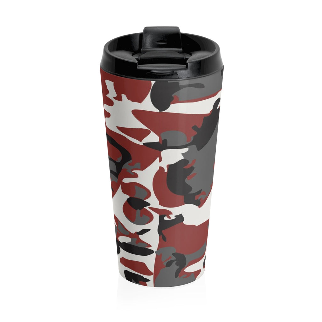 Christian Travel Mug 15 oz (Armor Of God, Ephesians 6:11)
