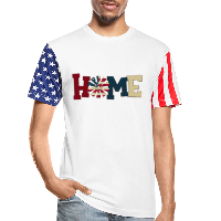 Patriotic Shirt - American Home with Patriotic Windmill Unisex Tees