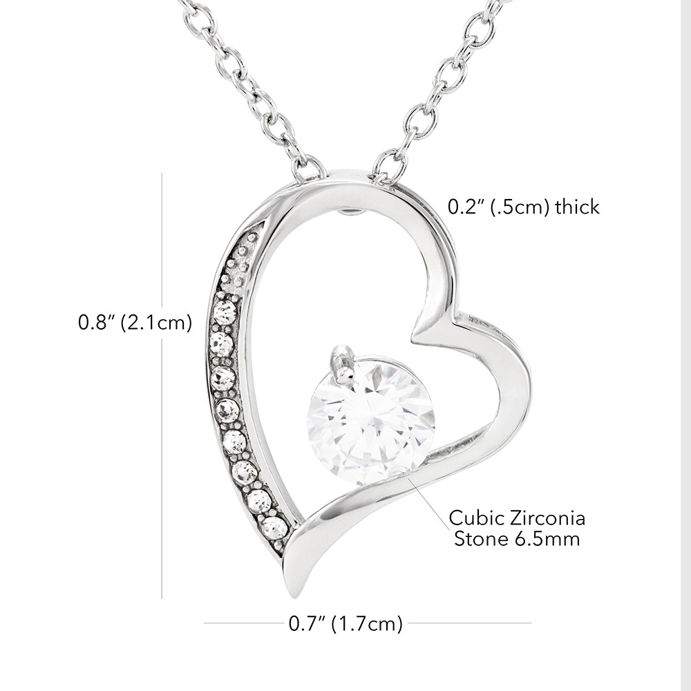 Forever Love Necklace - Gift to Wife (You Complete Me)