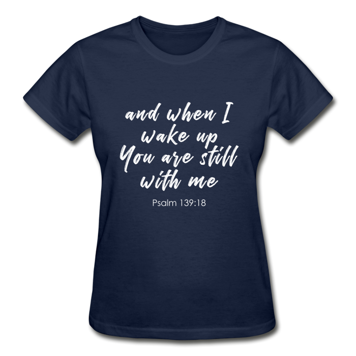 Psalm 139:18 Women Tees - navy