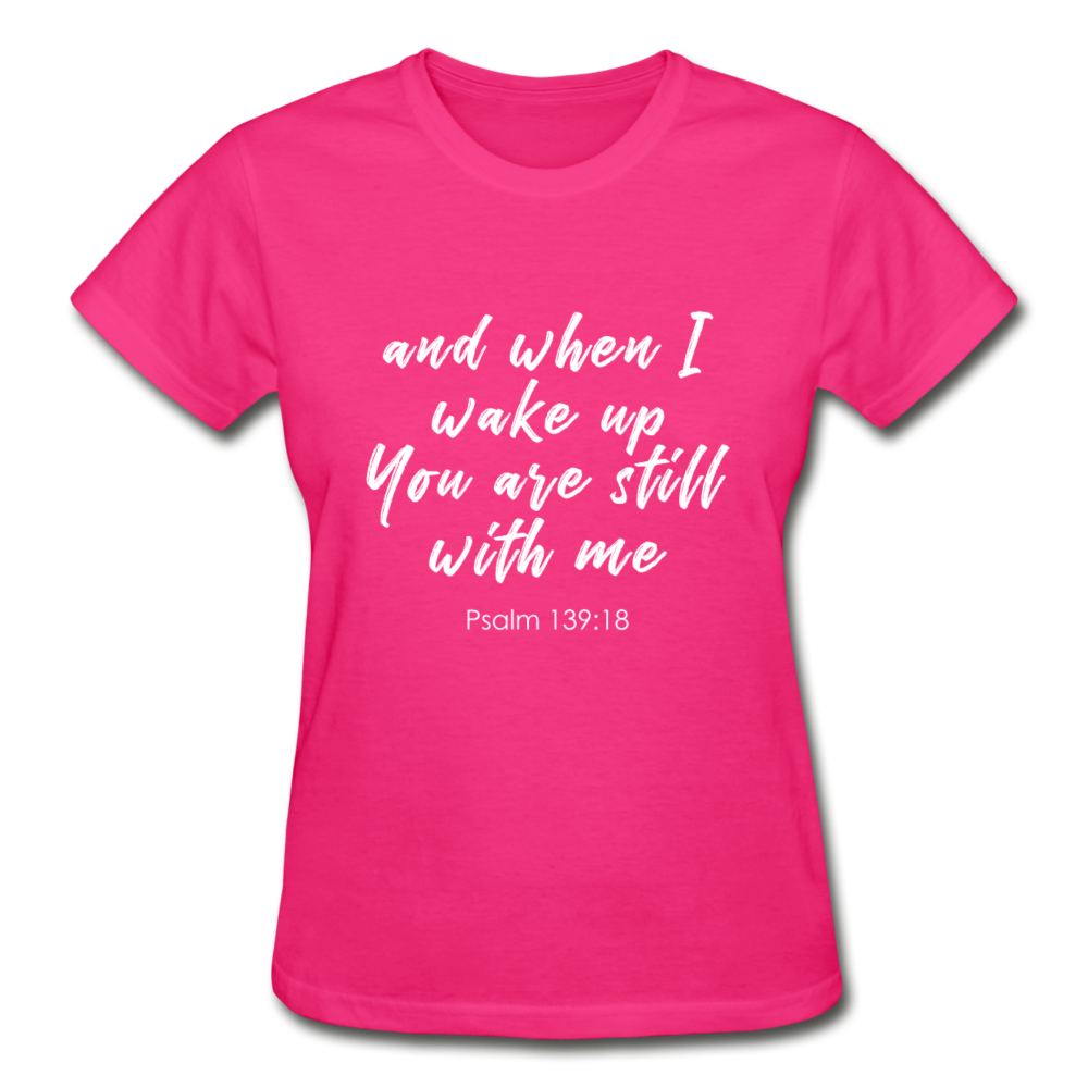 Psalm 139:18 Women Tees - fuchsia