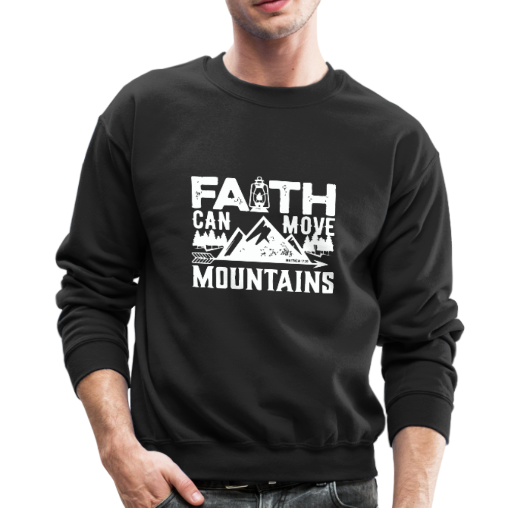 Faith Men's Sweatshirt - black