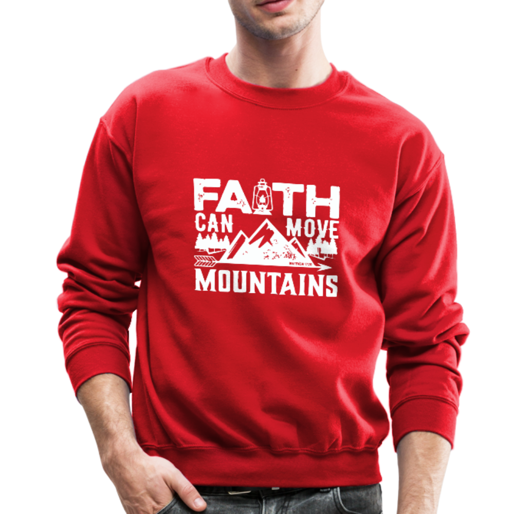 Faith Men's Sweatshirt - red