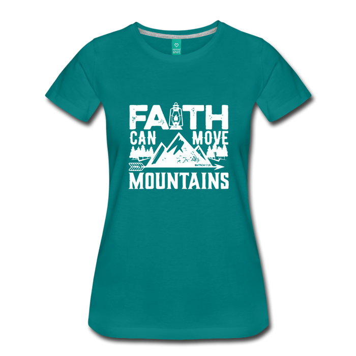 Faith Women's T-Shirt - teal