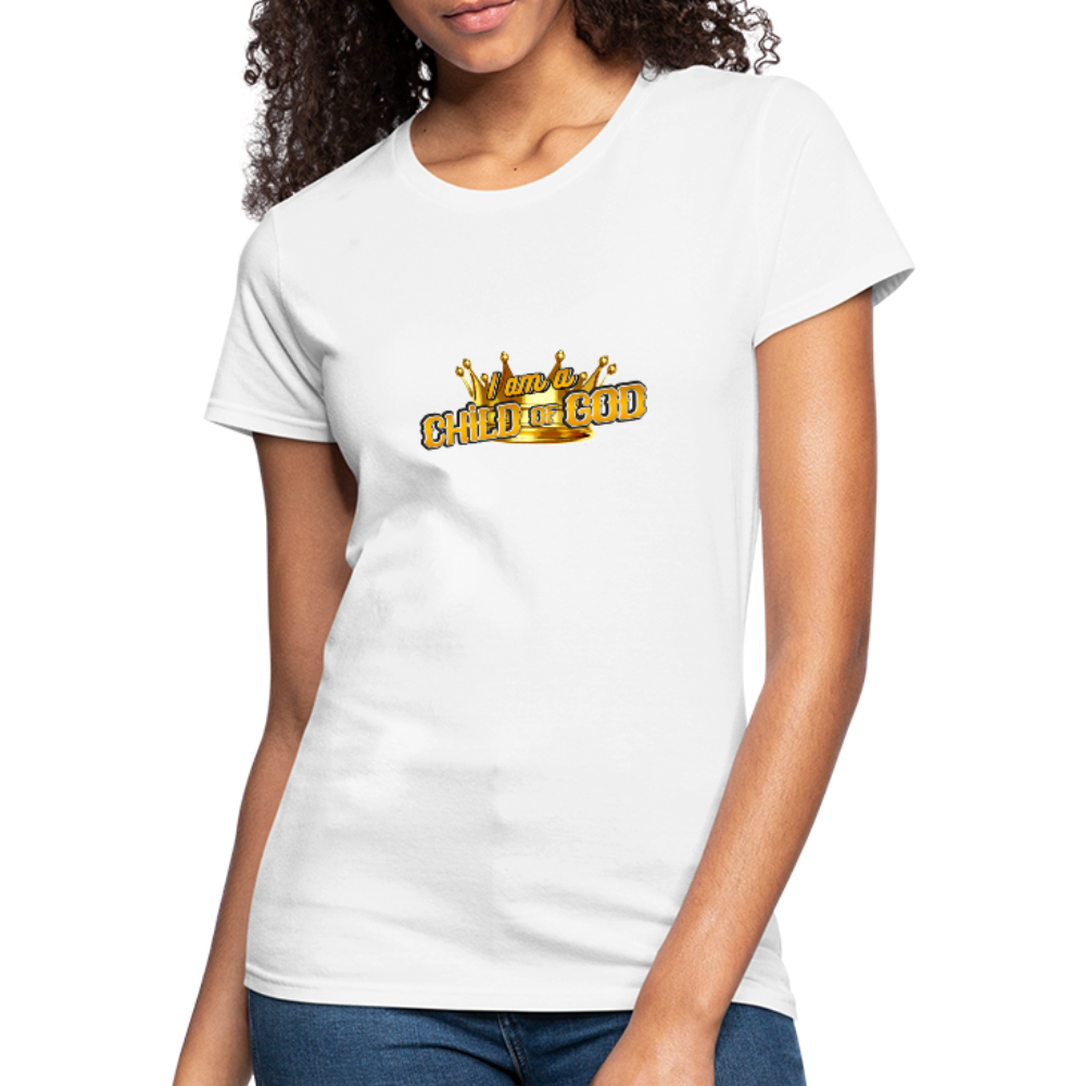 Child Of God Women's Jersey Shirt - white