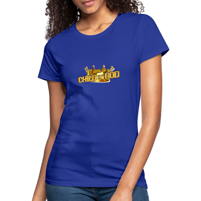 Child Of God Women's Jersey Shirt - royal blue