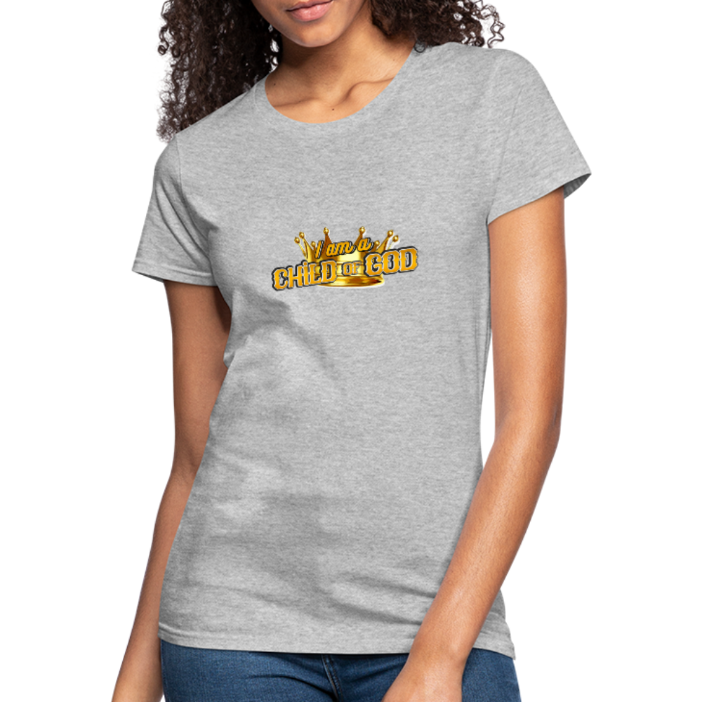 Child Of God Women's Jersey Shirt - heather gray