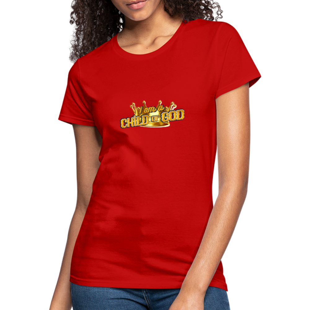 Child Of God Women's Jersey Shirt - red