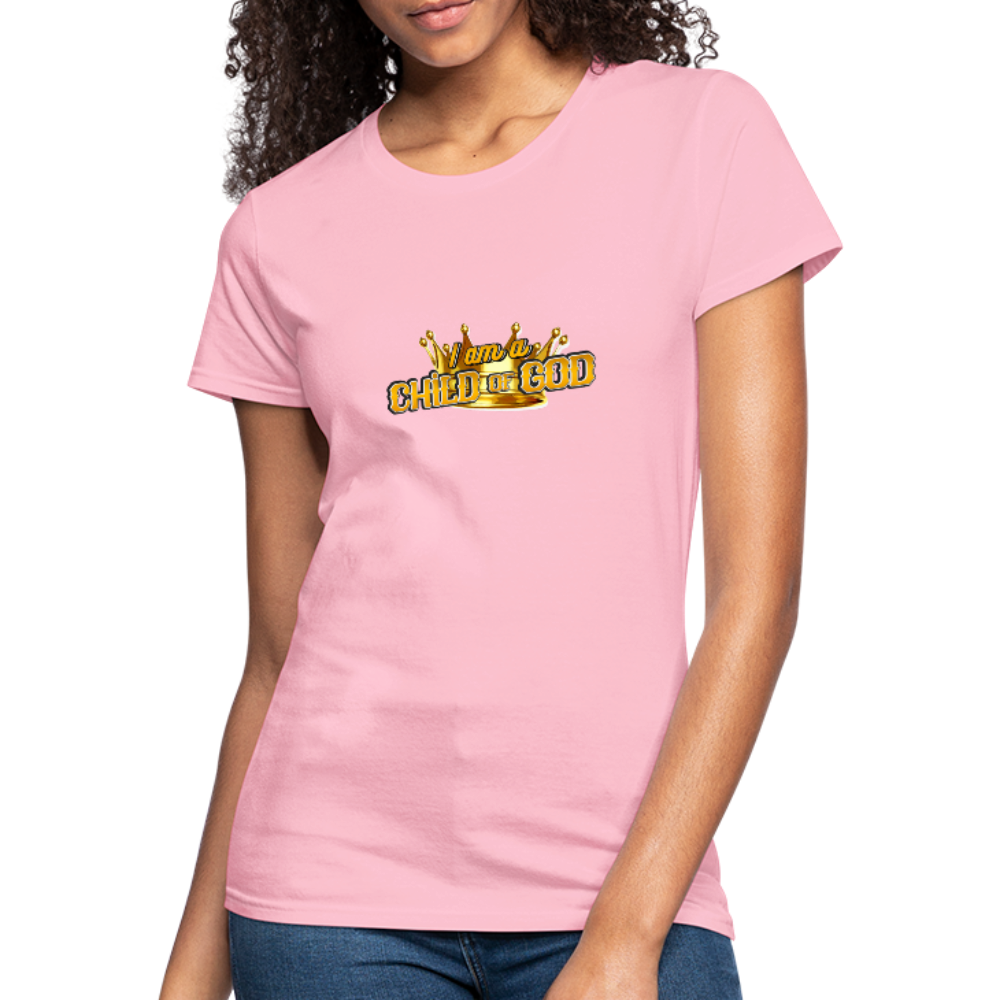 Child Of God Women's Jersey Shirt - pink