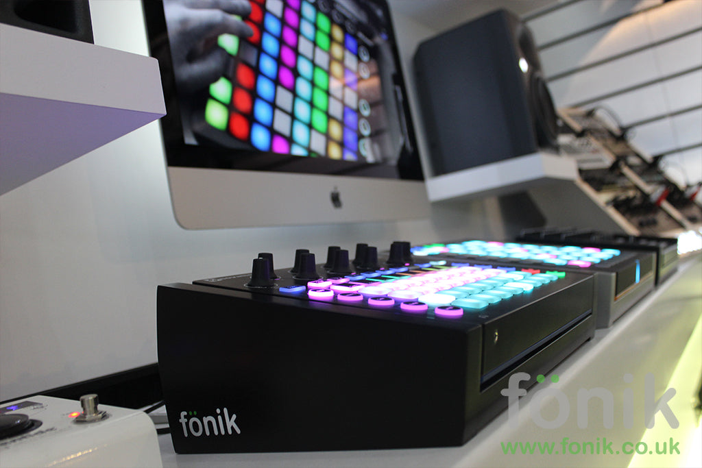 Black Fonik Audio Stand For Novation Circuit Music Production