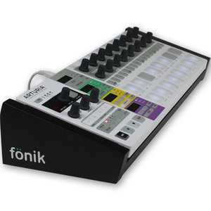 fonik stand for arturia beatstep pro in black