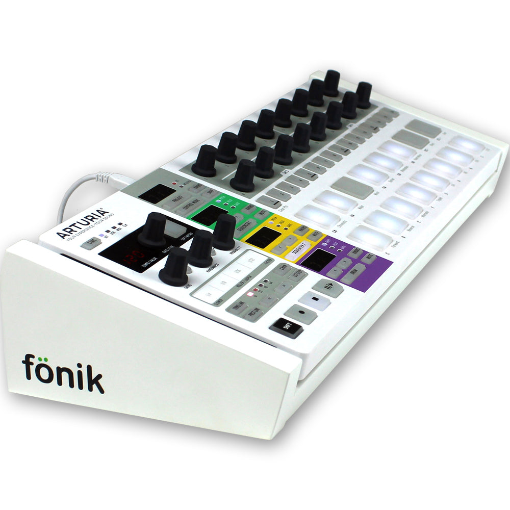 White Fonik Stand For Arturia Beatstep Pro