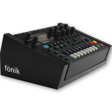 Load image into Gallery viewer, fonik stand for elektron digitone or digitakt in black