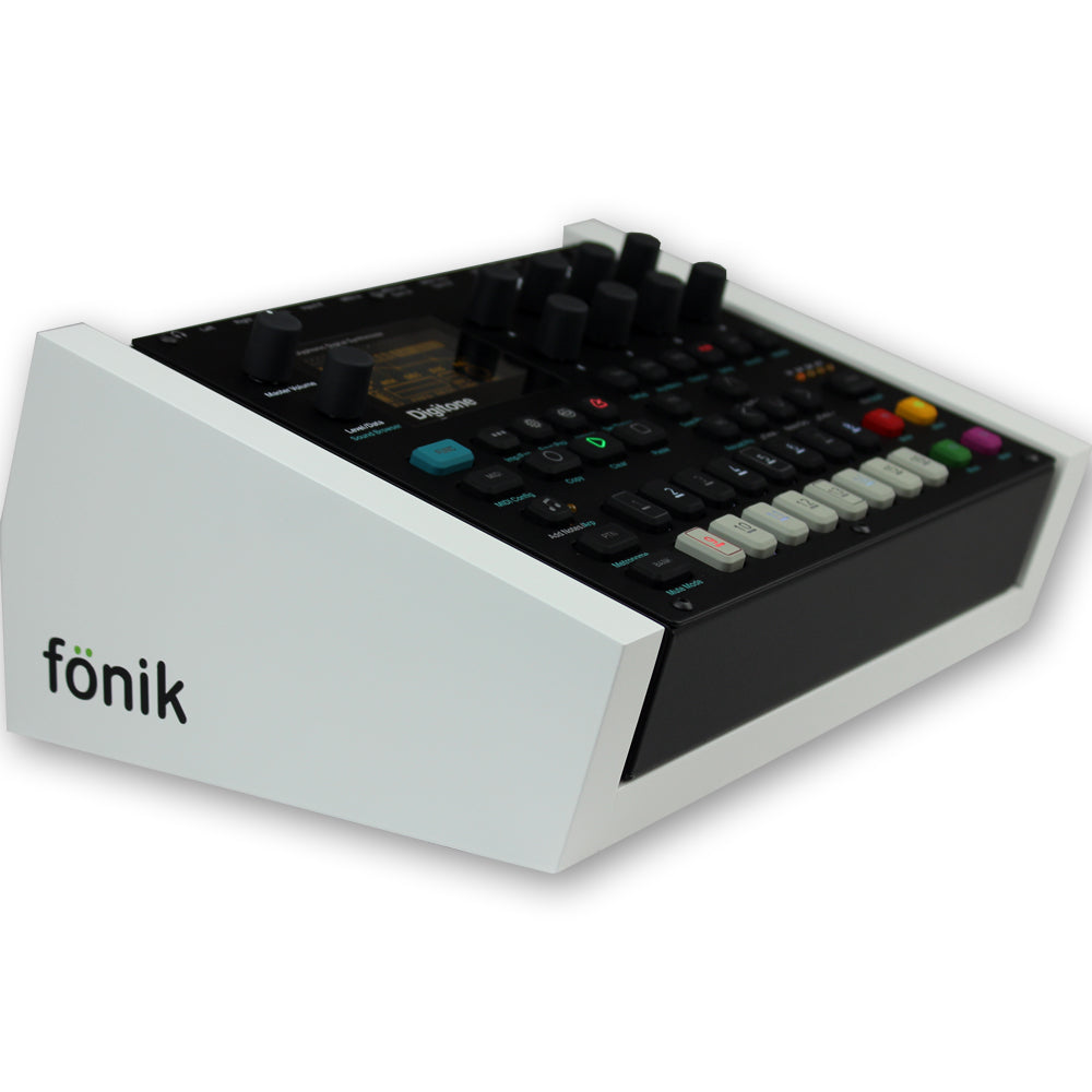 fonik stand for elektron digitone or digitakt in white