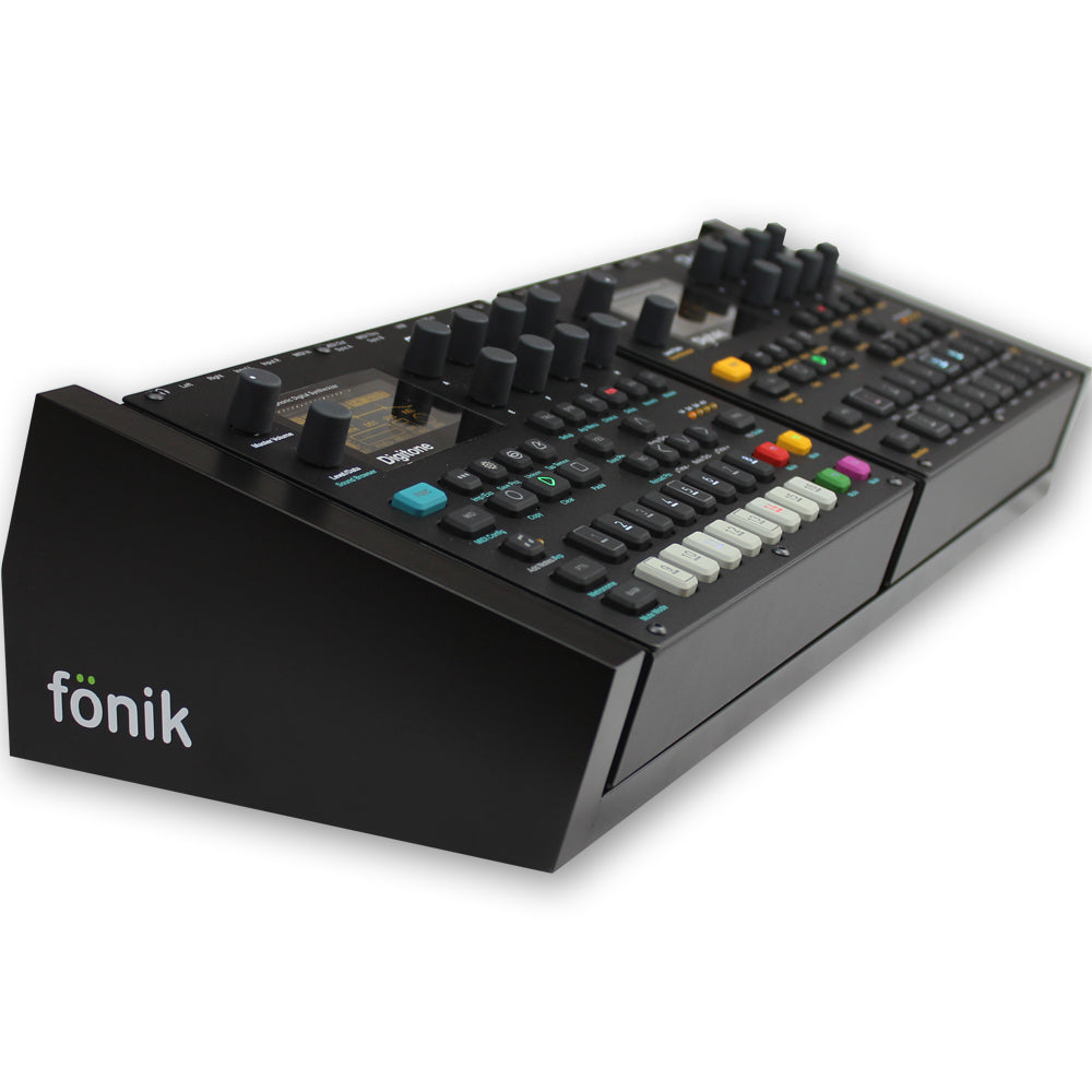 Black Fonik Stand For Elektron Digitone/Digitakt x 2