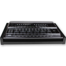 Load image into Gallery viewer, black fonik stand for roland tr-8 or mx-1 shown with decksaver cover