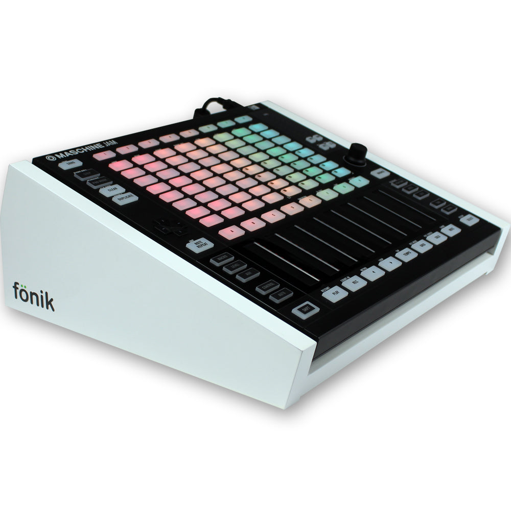 fonik stand for ni maschine jam in white