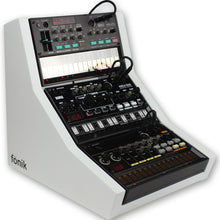 Load image into Gallery viewer, fonik stand for 3 korg volca in white