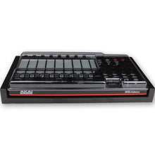 Load image into Gallery viewer, black fonik stand for akai apc40 mk2 shown with decksaver cover