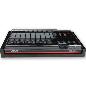 black fonik stand for akai apc40 mk2 shown with decksaver cover