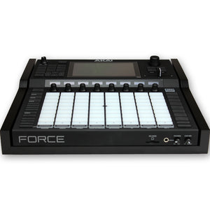 black fonik stand for akai force front view