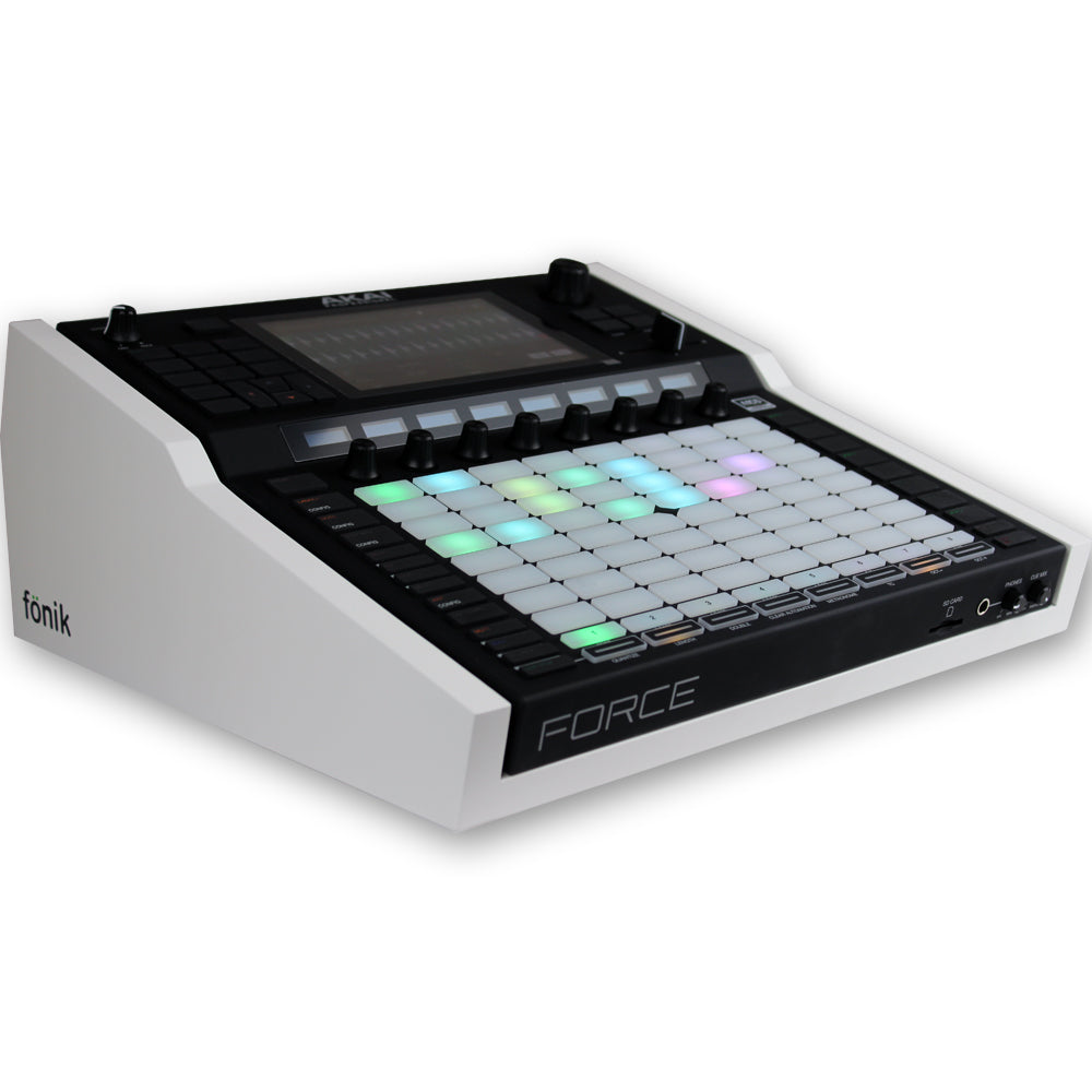 fonik stand for akai force in white