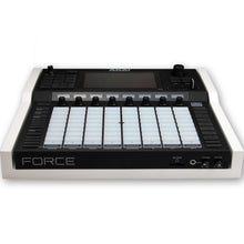 Load image into Gallery viewer, white fonik stand for akai force front view