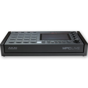 black fonik stand for akai mpc live front view