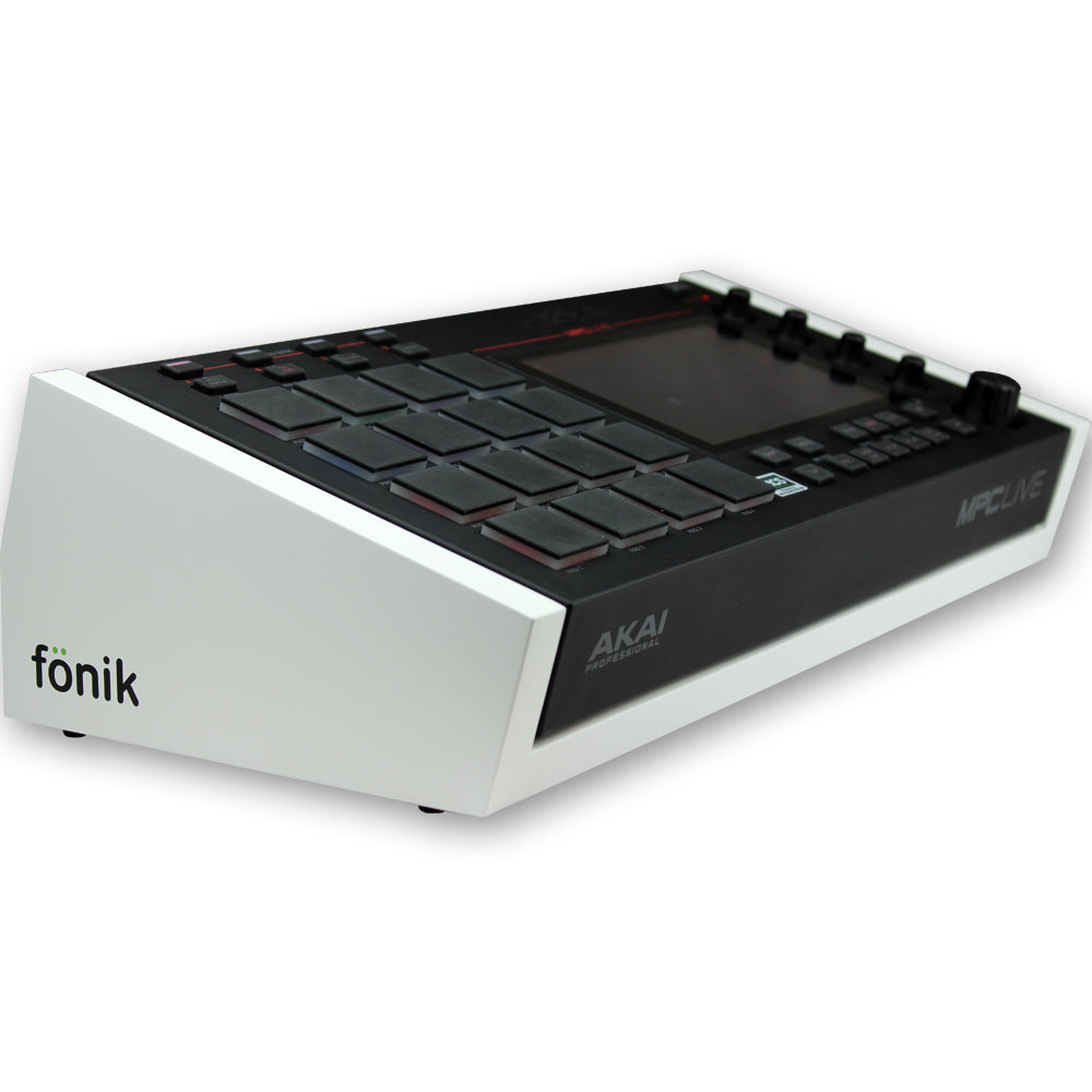 fonik stand for akai mpc live in white