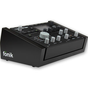 fonik stand for elektron analog heat in black
