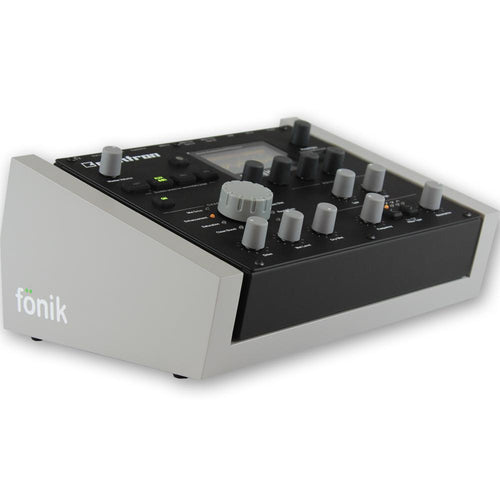 fonik stand for elektron analog heat in grey