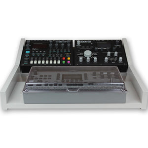 grey fonik stand for elektron multi setup shown with decksaver cover