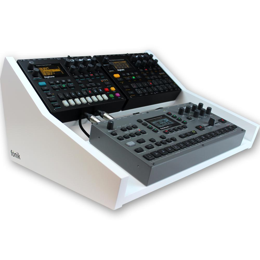 fonik stand for elektron multi setup up in white