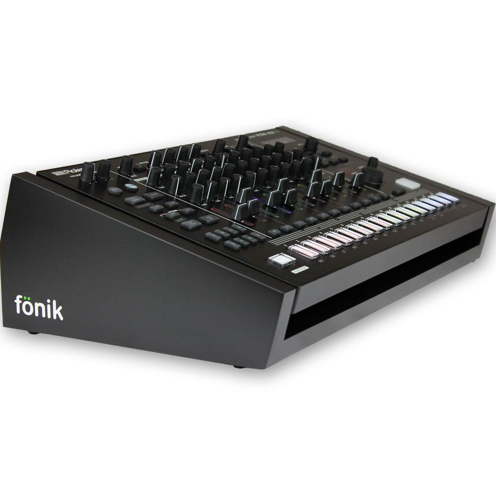 fonik stand for roland tr-8s in black