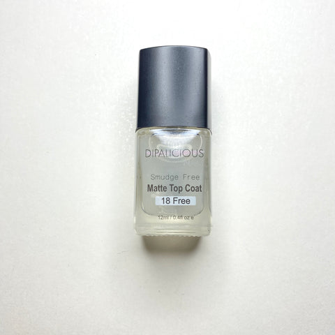 Smudge Free Top Coat - MATTE