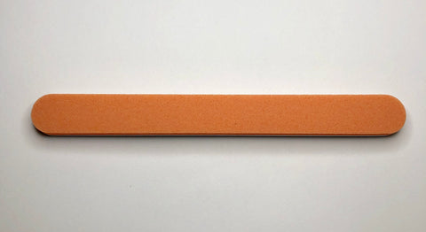 Orange Dual Sided Foam Buffer & File - Medium Grit 180/180