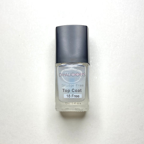 Smudge Free Top Coat - GLOSSY