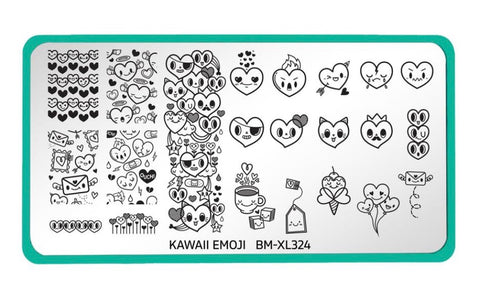 Maniology Kawaii Emoji: Love Overload (BM-XL324)
