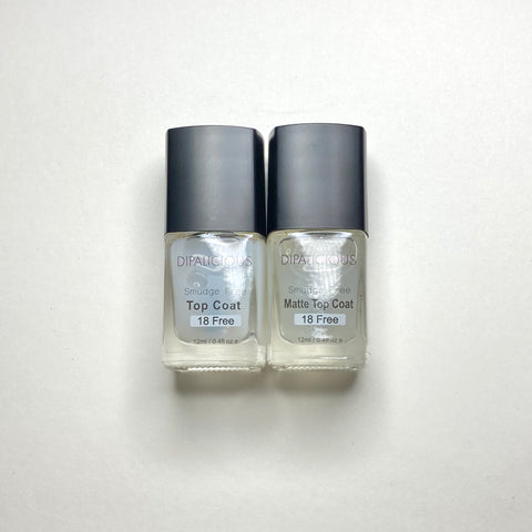 Smudge Free Duo - Glossy + Matte
