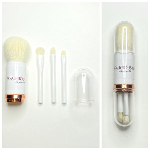 Powder Brush Set - 4pc