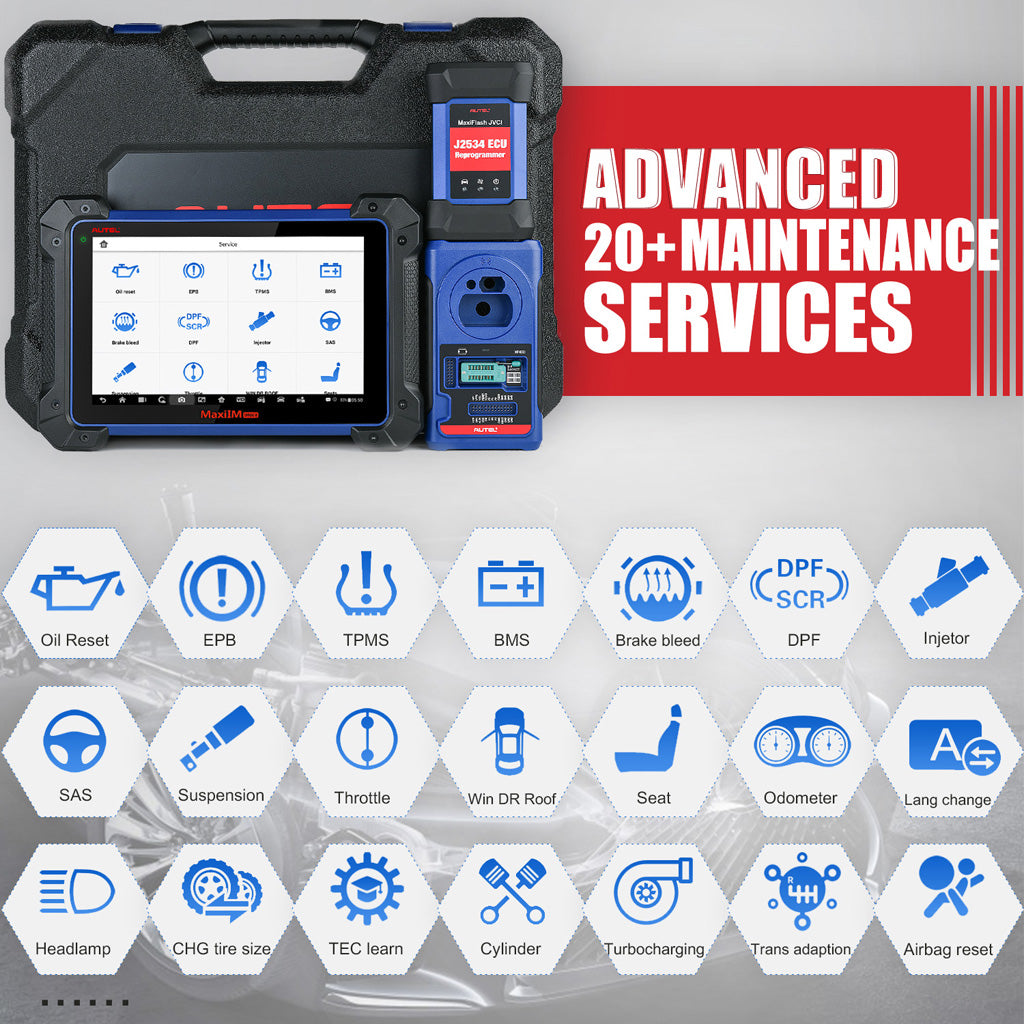 Autel MaxiIM IM608 All Key Lost Programming Tool service