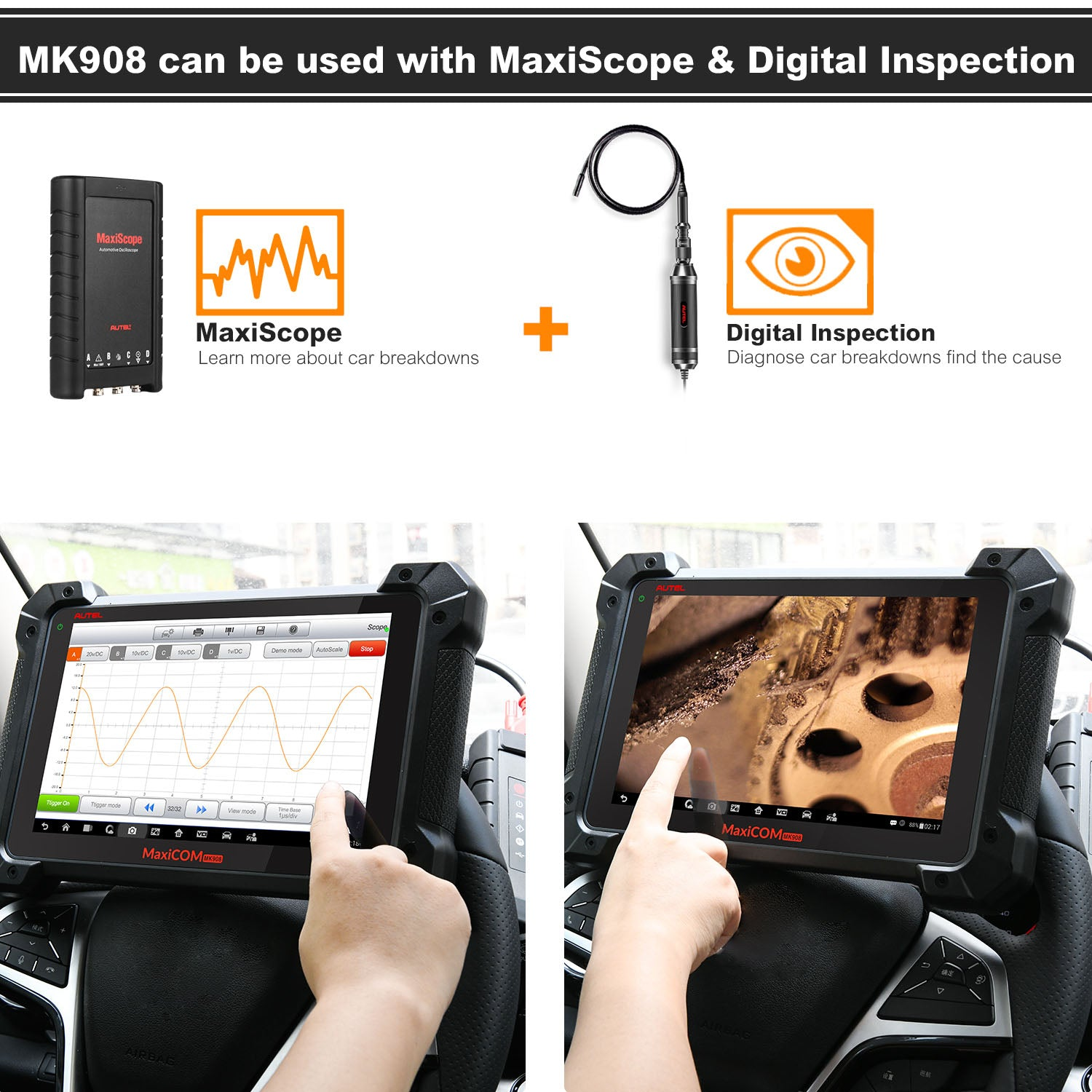 mk908 add-on functions