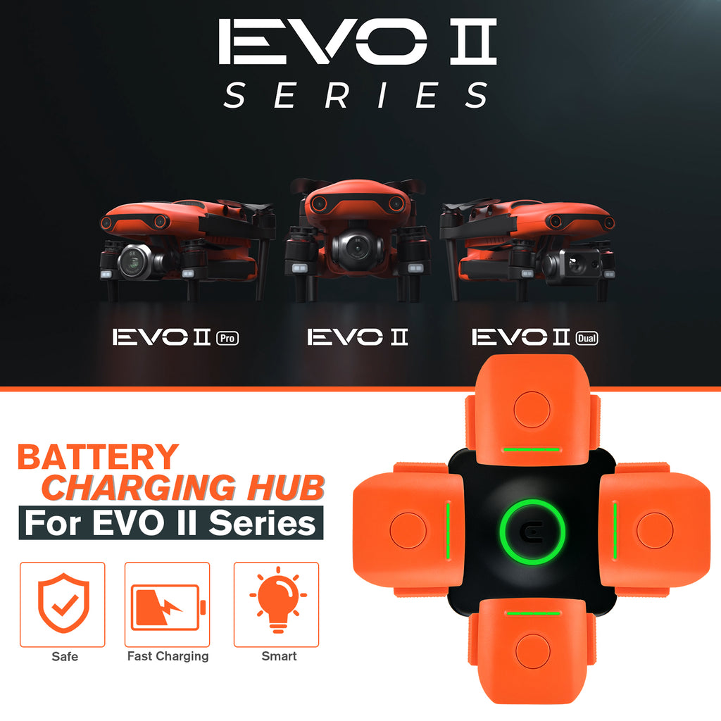 evo ii battery charging hub