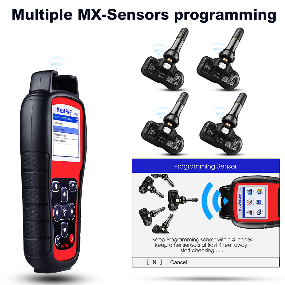 autel ts508k Activates/reads All TPMS Sensor