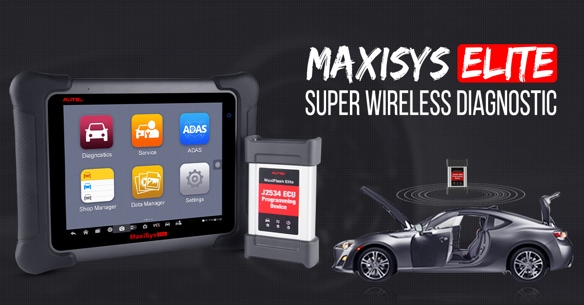 autel maxisys elite update