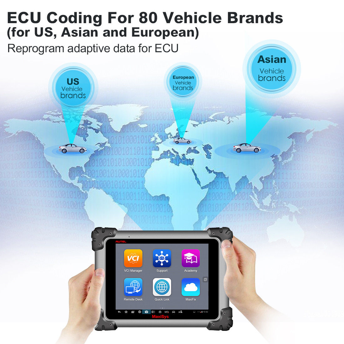autel ms908 ECU Coding Tool for 80 Vehicle Brands