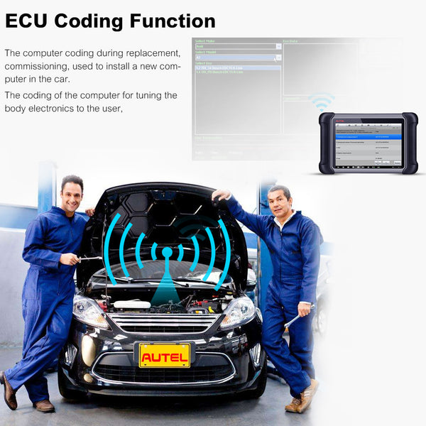 Bi-directional Control and ECU Coding
